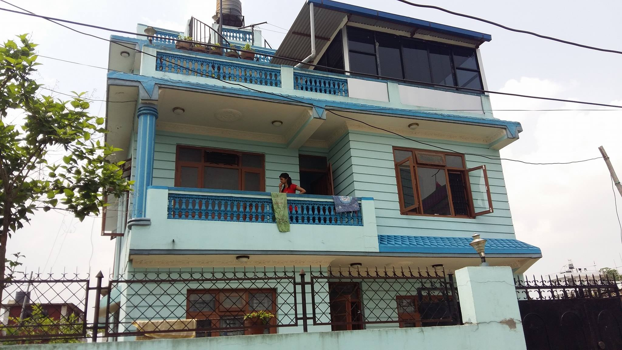 Nepali new home design awesome home for Interior design of house in nepal