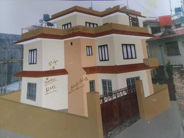 2.5 Storey House For Sale At Thasikhel, Ranibu, Lalitpur